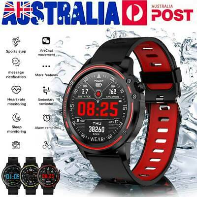 IP68 Waterproof Bluetooth Smart Watch Heart Rate Fitness Tracker For Android IOS