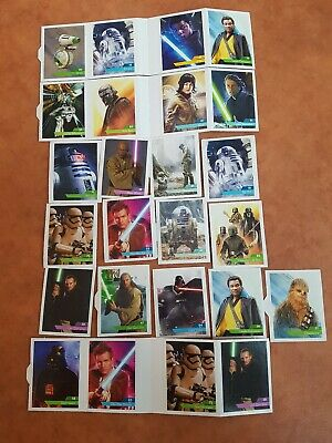 cartes stickers STAR WARS Leclerc 2019