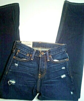 NWOT Abercrombie Fitch Kids Jeans Low-rise 10 Slim Free Shipping Free Returns