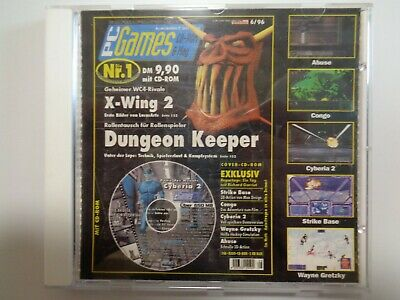 X-Wing 2 & Dungeon Keeper --> Pc Games 6/96 /// Pc Cd-Rom