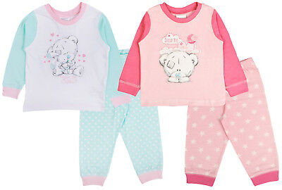 Baby Boys Girls Pyjamas Kids Toddlers Me To You Pjs Cute Tatty Teddy Set Babies