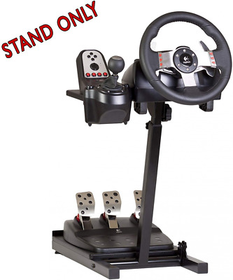 The Ultimate Steering Wheel Stand in Black - suitable for Logitech, Xbox