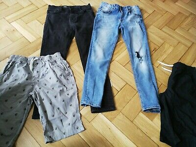 Boys Age 10 Years Clothes Bundle River island Next jeans & two shorts