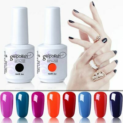 GEL LAB 15ML Candy Color Gel Polish Base Top Coat Manicure Varnish Lacquer