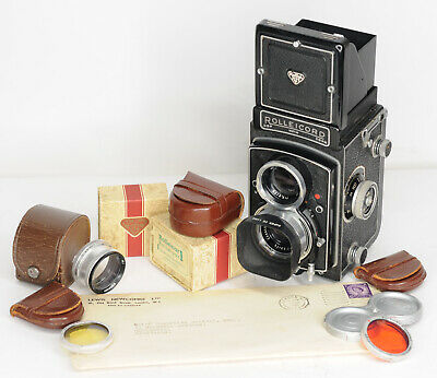 Rolleicord Va Type 1 TLR  120 Roll film Camera (5108BL)