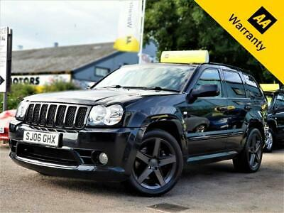 2006 Jeep Grand Cherokee 6.1 SRT8 5d p x welcome 420 BHP AUTOMATIC DE CAT ST