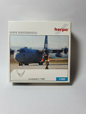 Herpa Wings 1:500 Lockheed C 130 Hercules US.Air Force  530651 Modellairport500