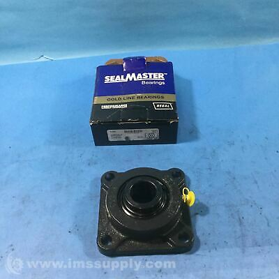 Sealmaster SF-20C Four Bolt Flange Bearing with Bearing Insert FNOB