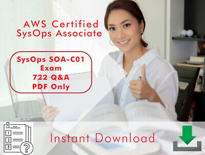 Amazon AWS Certified SysOps Associate AWS - SOA-C01 Exam 722 Q&A PDF Only 2020