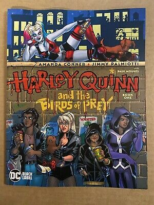 Harley Quinn Birds Of Prey #1 First Print Dc Comics (2020) Batman Black Label