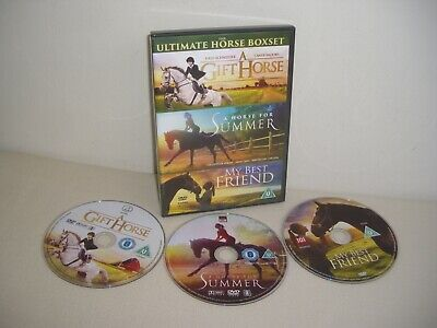 The Ultimate Horse Boxset DVD A Gift Horse My Best Friend A Horse For Summer