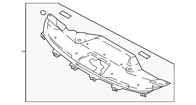 New Genuine Kia Garnish Assy-Rad Gri 86356B0000 OEM