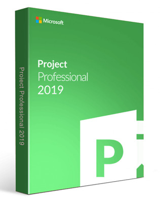 Microsoft Project 2019 Professional Key LIMITED STOCK