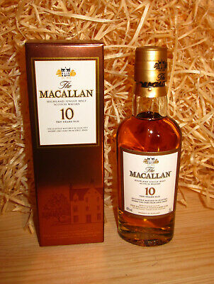 The Macallan 10 year old sherry oak miniature - single malt whisky - 5 cl - 40%