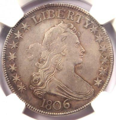 1806 Draped Bust Half Dollar 50C O-118a - NGC XF Detail - Rare Certified Coin!