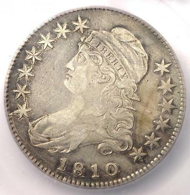 1810 Capped Bust Half Dollar 50C O-102a - Certified ICG XF45 Details (EF45)!