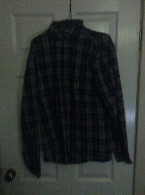 """Large Chequered Shirt - For Both Smart & Casual Occasions - """"Spirit of America"""""""