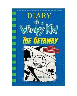 New Diary of a Wimpy Kid: The Getaway (Book 12) by Jeff Kinney Hardcover 2017