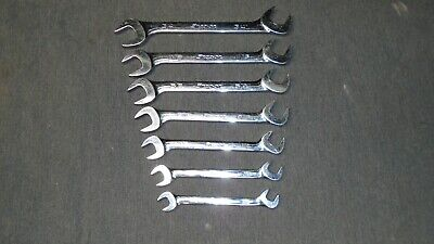 SNAP-ON VS807A 7pc Open End 4-Way Angle Head Wrench Set SAE 3/8in. thru 3/4in.