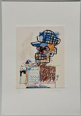 JEAN-MICHEL BASQUIAT Etching hand signed