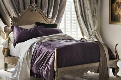 And So To Bed London Versailles Leafed Antique French Style Bed & Mattress