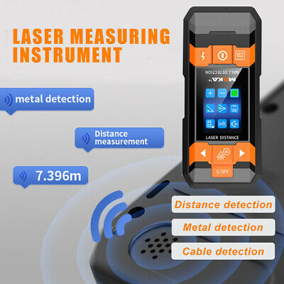 Multi-function Laser Distance Meter AC Wire Metal Finder Wall Scanner Waterproof