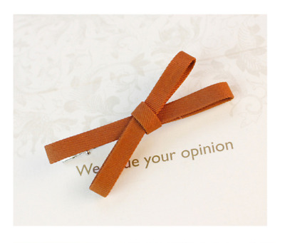 Fashion women's candy color bow hairpin hairpin Bobby Pin hair accessories