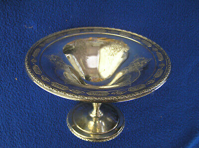 "6""Towle Louis XIV sterling silver compote 145g #1"