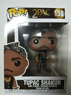 Funko Pop 2Pac #158 Tupac Shakur Figure Brand New