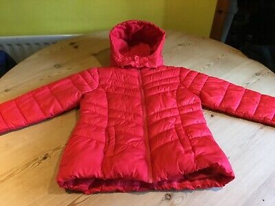 Girls Red Next Coat Age 10 Years