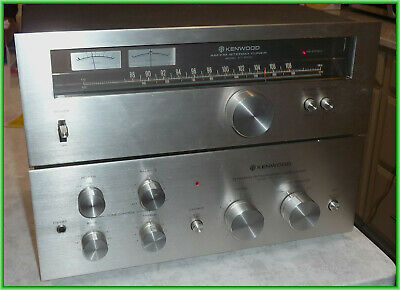 Kenwood KA-3700 Integrated Amp + KT-5500 Stereo Tuner FREE SHIP