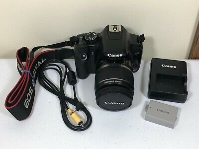 Canon EOS Rebel XSi 12.2MP Digital SLR Camera With 18-55mm Lens