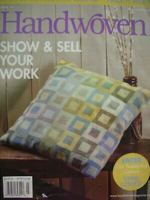 Weaving Magazine March/April 2006 - HANDWOVEN - Info Articles Projects etc -
