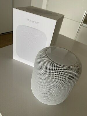 Apple HomePod Wi-Fi Smart Speaker - White