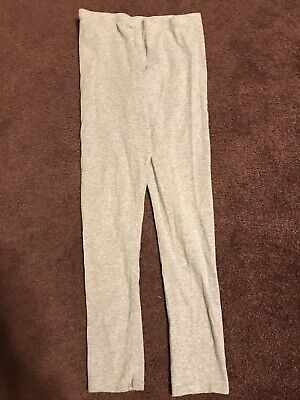 Girls Gray Leggings Pants Size XL 14/16 Faded Glory GUC
