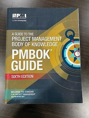 A Guide to the Project Management Body of Knowledge 6TH ED **PAPERBACK**
