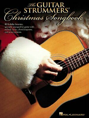 The Guitar Strummers/' Christmas Songbook Sheet Music 80 Holiday Favori 000699527