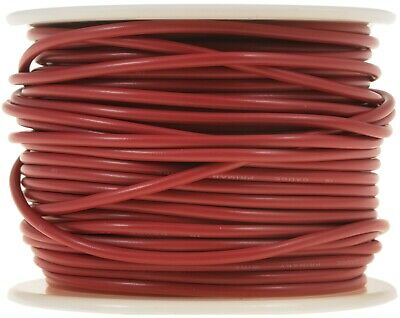85792 Wire Spl Red 18 Ga 100