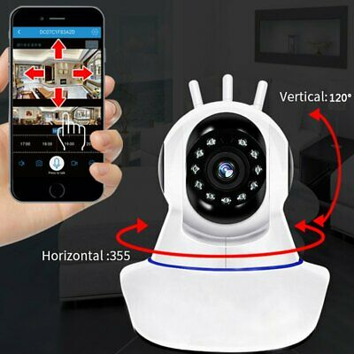 HD 1080P Wireless IP Camera WiFi Home CCTV Security System Night Vision New
