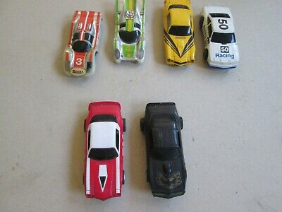 Tyco + Life-Like slot cars 1/64 suit AFX track 2 running rest for parts Trans-Am