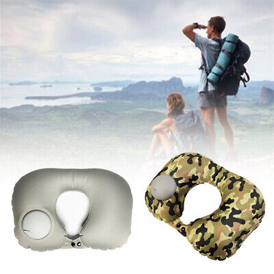 Car Nap Neck Inflatable U Shaped Airplane Headrest Office Sleeping Travel Pillow
