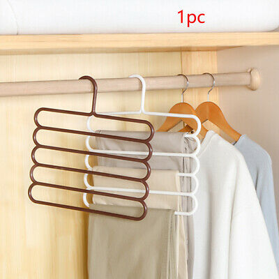 5 Layer Types Multi-function Pants Holder Trousers Hangers Scarf Tie Towels Rack