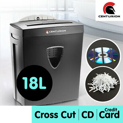 3 in 1 Combo Paper Shredder Sheet Credit Card Cross Cut for Home and Office 18L