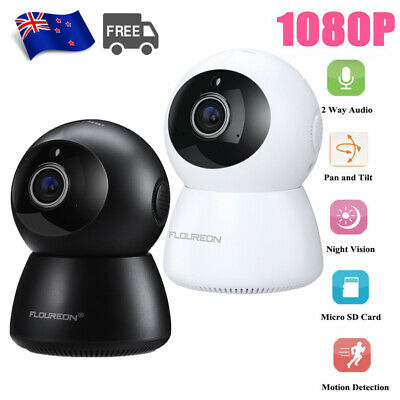 HD 1080P Wireless WiFi IP Camera Home CCTV Security System Audio Night Vision