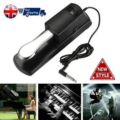 Universal Sustain Foot Pedal Damper Polarity Switch Electric Piano Keyboard Kits