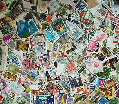 World Stamps - About 1000 + Stamps  Mix Worldwide Lot