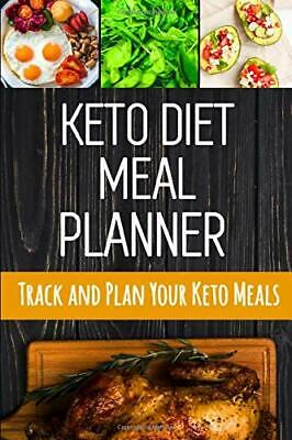 KETO DIET MEAL PLANNER: DAILY LOW-CARB MEAL PLANNER FOR By Feel Good Press *NEW*