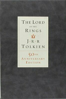 LORD OF RINGS (50TH ANNIVERSARY EDITION) By J.r.r. Tolkien - Hardcover