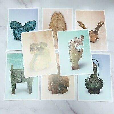 Sp.616 Ancient Chinese Artifacts Postage Stamps The Ruins of Yin  postcards