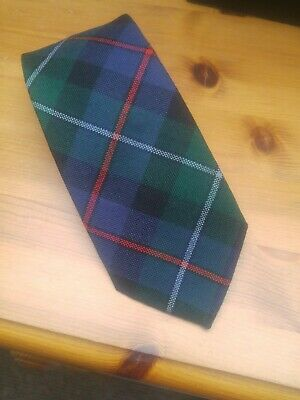 Tartan tie by Campbell of Cawber